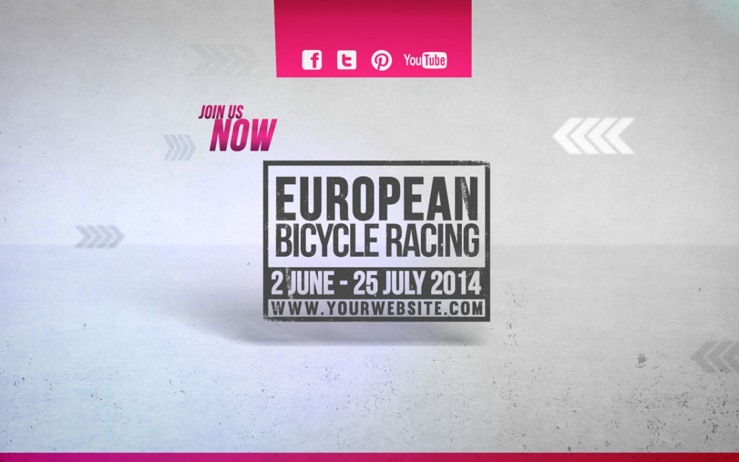Cycling Marathon Broadcast Design