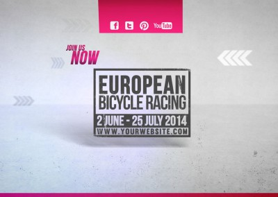 Cycling Marathon Broadcast Design