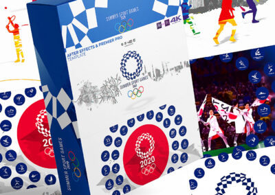 Summer Olympic Games Broadcast Pack