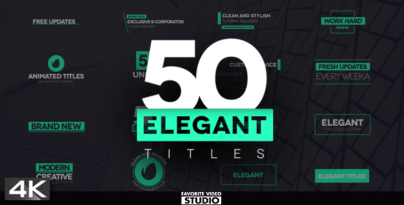 50 Favorite Title Collection
