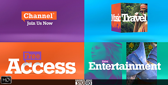 Colorful Broadcast Pack