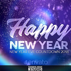 New Year Countdown 2018