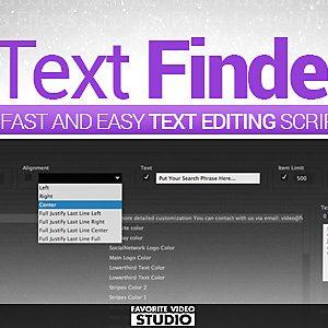 Taxt Finder Script by FVS