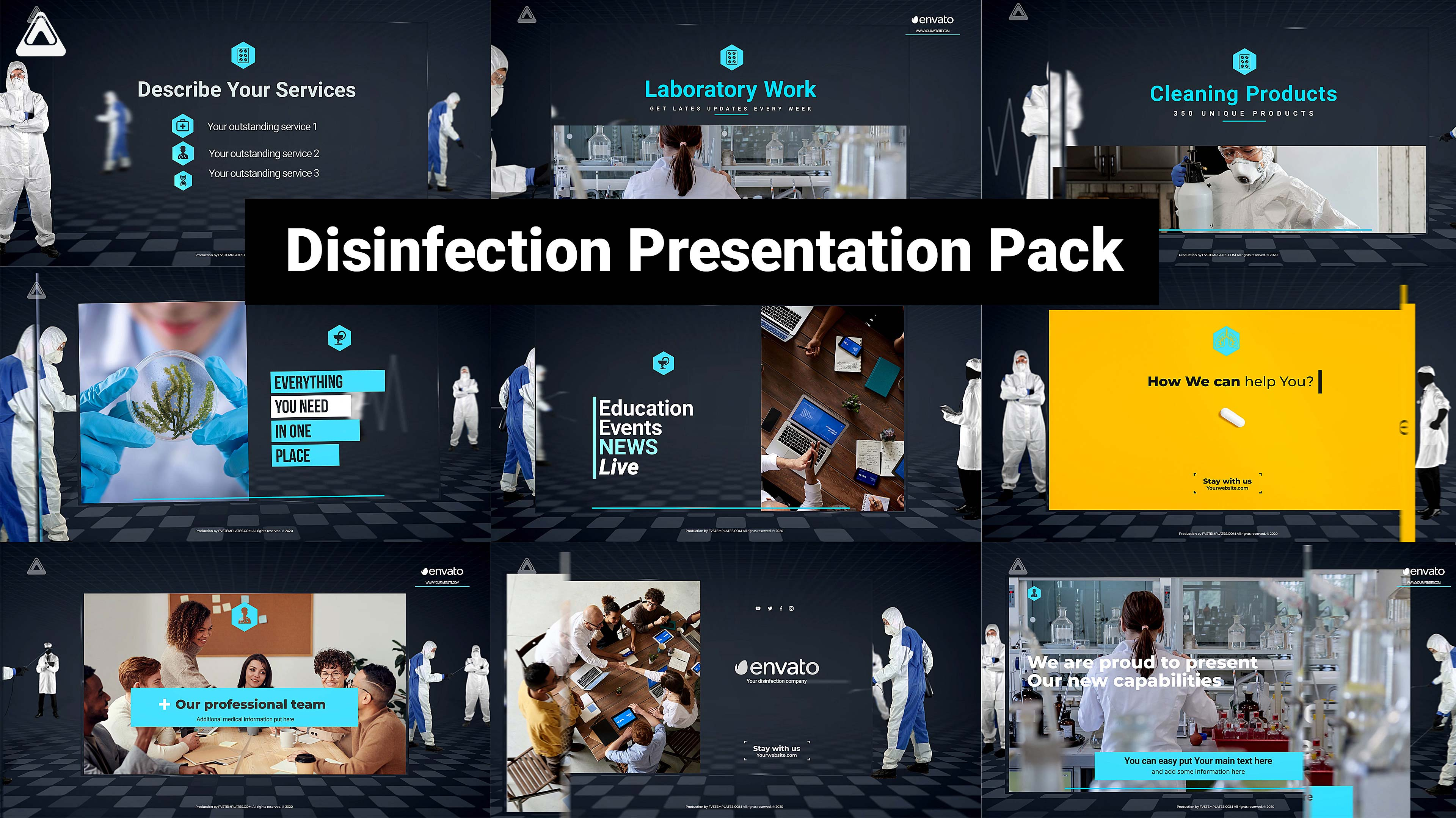 Disinfection Presentation Pack