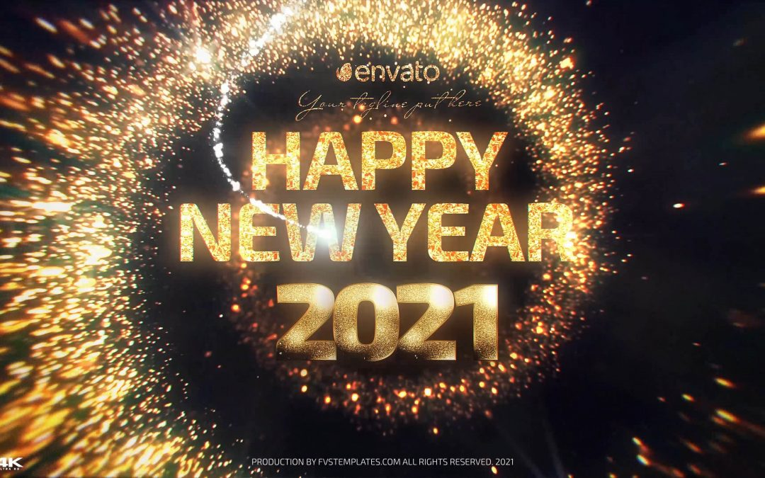 Golden NewYearCountdown 2021