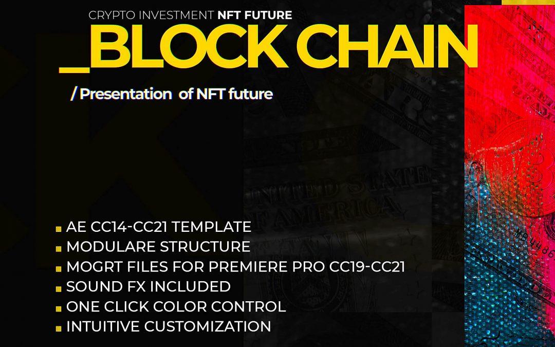 Block Chain Crypto NFT future template