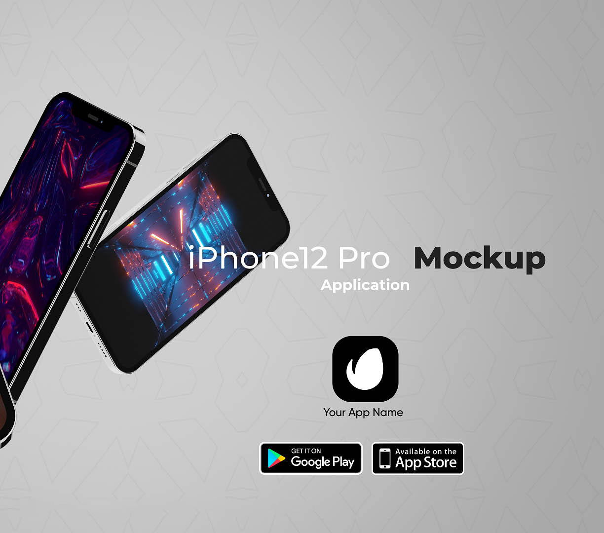 Favorite iPhone 12 App Promo template for After Effects & Premiere Pro