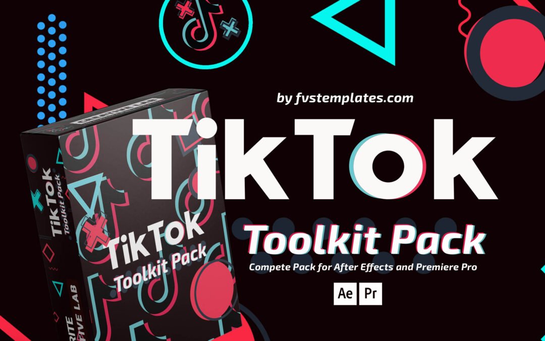 Favorite TikTok Toolkit Pack for After Effects and Premiere Pro CC14-21