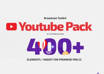 Favorite Youtube Toolit Pack 400+ Elements for After Effects and Premiere Pro CC14-21